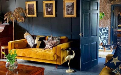 Maximalismo como tendencia decorativa de interiores